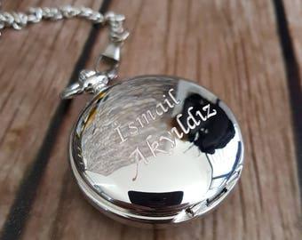 groomsmen gift, engraved pocket watch, personalized pocket watch, groom, groomsmen gifts, pocket watch