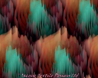 Couches pédales fait à la main en velours Turquoise marron ameublement tissu fibre Art moderne