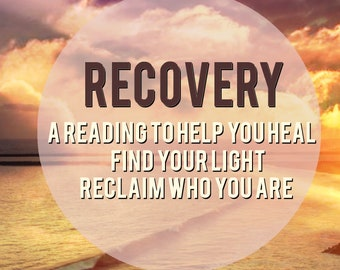 Recovery healing Reading || Oracle Cards ||Spirit Guides || Divination|| PDF | Email|| Psychic reading|| 24 hour/same day available