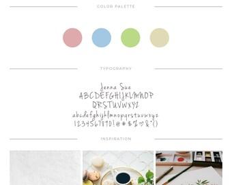 Branding Logo ⨯ Floral Logo ⨯ Premade Logo ⨯ Boutique Logo ⨯ Business Logo ⨯ Pretty Logo ⨯ Photography Logo ⨯ Branding Kit ⨯ Blog Logo