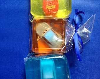 Exclusively for Lindsey- 15 Soap Pack- Save the Cars Soaps