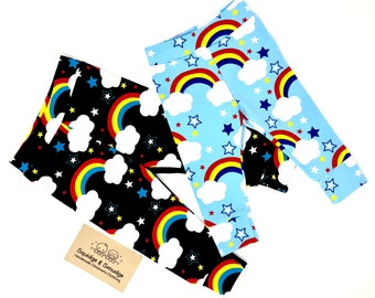 Stars & Rainbows Cuff Leggings