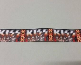 Gros Grain - Kiss - 25 mm Ribbon