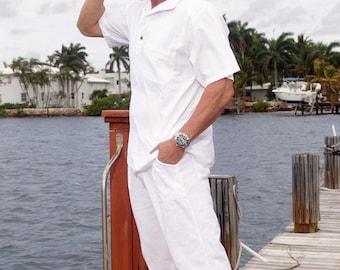 SAYRUS Organic Cotton Spandex Waist relaxed fit Men's Pant