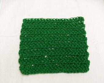 Kitchen Scrubbie Cloth - Green