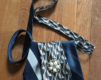 Upcycled Necktie Bags