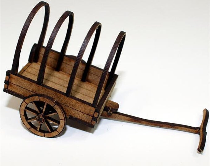 28mm Terrain: Roman Ox Cart - 4Ground Miniatures