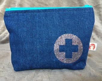 Denim Ouch Pouch