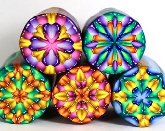 Polymer Clay Jewel Cane Tutorial