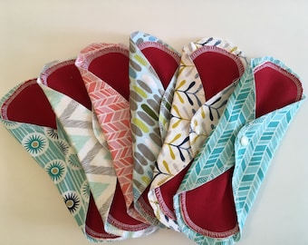 Cloth Pads, Mama Pads, Organic, Cloth Menstrual Pads, Reusable Pads, Reusable Cloth Pads, Organic Menstrual Pads, Reusable Menstrual, Pads