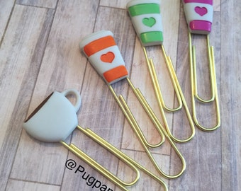 Coffee Cup Paperclip