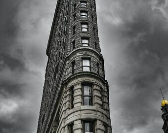 Print - New York Flatiron