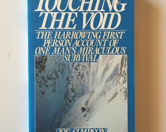 Touching The Void  by Joe Simpson (1990, Softcover)