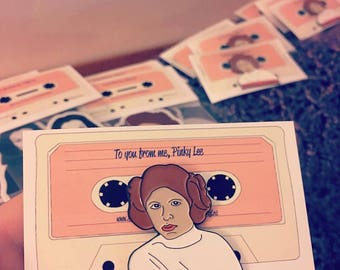 Princess Leia Lapel Pin - Star Wars Rebel Grrrl