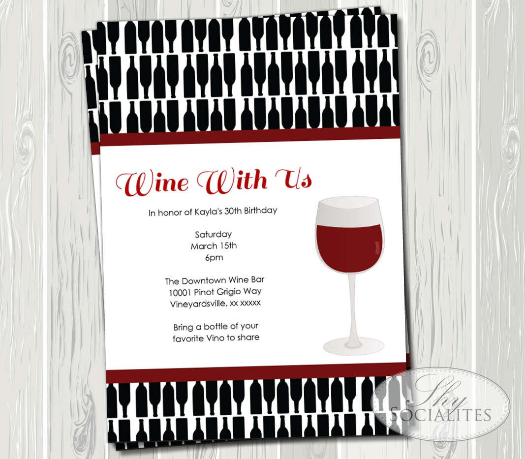 wine invitations - Romeo.landinez.co
