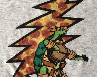 Grateful Dead Inspired Shirt-Ninja Terrapin Station Pizza Lot Shirt-Adult Uni T Shirt Sizes S M L XL XXL