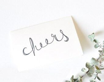 Celebration Card - Cheers