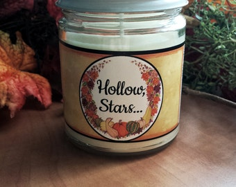 Hollow, Stars... Gilmore Girls Inspired Soy Wax Candle-Limited Edition