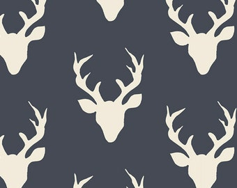 Hello Bear-Buck Forest Twilight-Art Gallery Fabrics