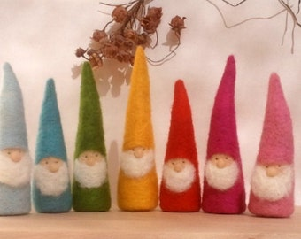 Autumn Rainbow Gnomes - Waldorf Inspired