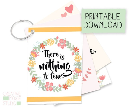 Birth Affirmation Cards - Digital Download