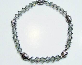 Bicone Crystals Bracelet