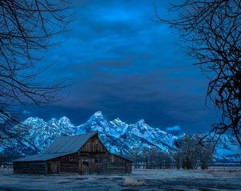 Sunrise Over Mormon Row in Grand Teton National Park