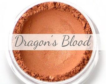"Eyeshadow Sample - ""Dragon's Blood"" - warm red shimmer (Vegan) Mineral Eye Shadow"