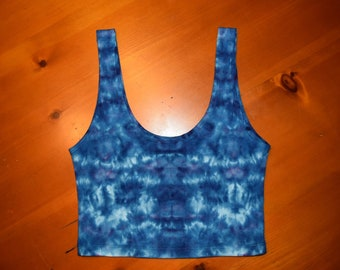 Medium Womens Cropped Tank Top