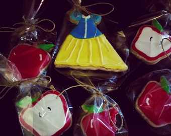 Snow White Sugar Cookies