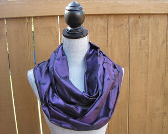 Cashmere Silk Scarf - RAVEN LIGHT by VIDA VIDA