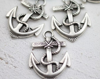 10 ANCHOR Pendant, High Quality, Handmade in Europe, zm535