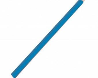 Blue chalk pencil point large pins