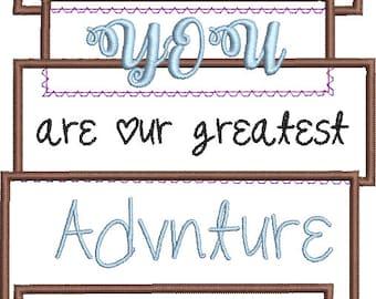 Boys and Girls Applique Adventure Board