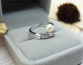 zircon sterling silver ring setting, adjustable ring mounting, vintage and elegant, Jewelry DIY, gift DIY