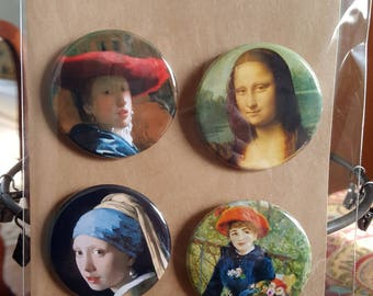 Art Snack III - Pinback Badges