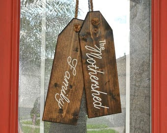 Personalized Door Tags