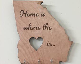 State Home Key Holder