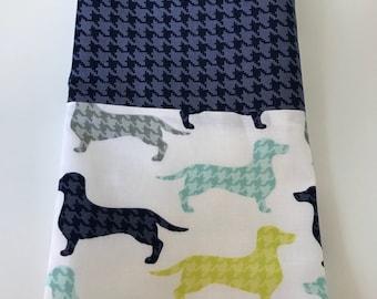 Dachshund / Sausage Dog Kitchen Tea Towel