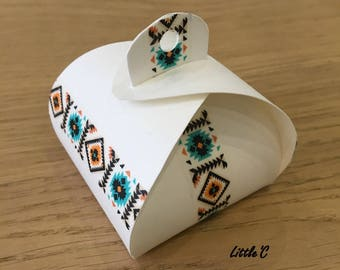 Boxes gifts Origami to assemble yourself - several patterns available - baptism / wedding / anniversary / Christmas