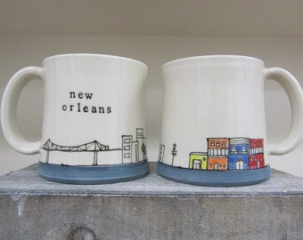 MADE TO ORDER ~ New Orleans Mug