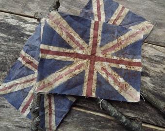 Union Jack Flag Poke British Flag Great Britain Primitive Home Decor