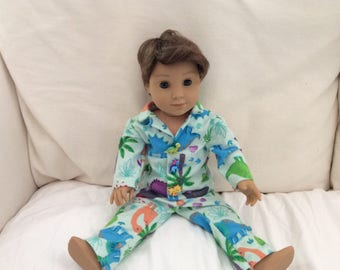 18 Inch Boy Doll Pajamas