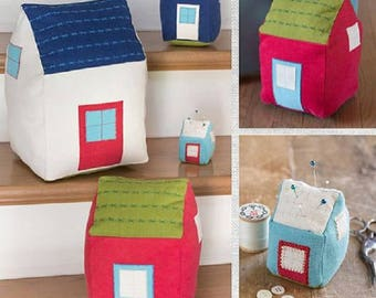 Pillow Kit - Tiny Houses  by Jerilynn Lijewski Design