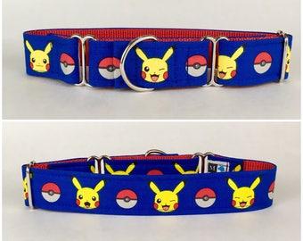 Pokémon Pikachu dog collar