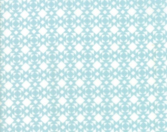 Nest Fabric by Lella Boutiquee for Moda, #5064-21, Robins Egg Blue - IN STOCK