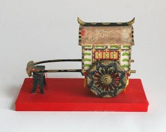 Japanese vintage ornament,Gosyoguruma,Japanese vintage