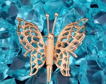 Monet Butterfly Brooch/Pin