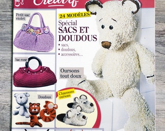 Creative 5 Special bags and cuddly Crochet magazine