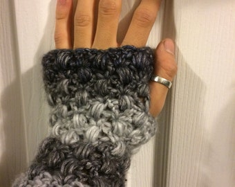 Matching Cowl & Fingerless gloves set